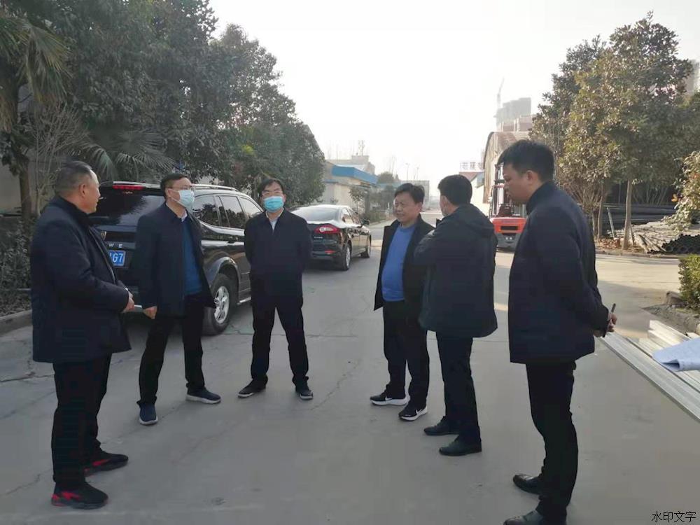 南阳市社旗县:关文波督导调研产业集聚区安全生产工作